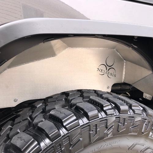 Nemesis Industries 12670 Rear Inner Fenders for Jeep Wrangler JK 2007-2018