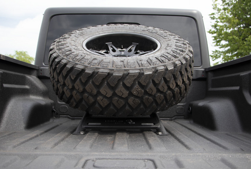 Fishbone Offroad FB21213 In-Bed Tire Carrier for Jeep Gladiator JT 2020+