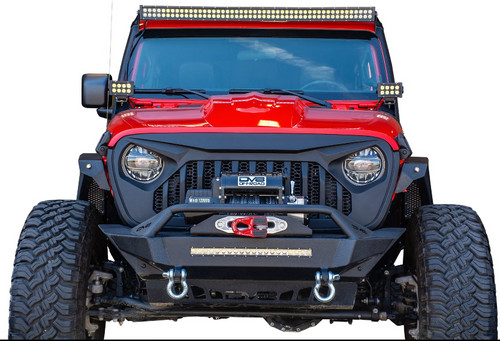 DV8 Offroad GRJL-01 Replacement Grille for Jeep Wrangler JL & Gladiator JT 2018+