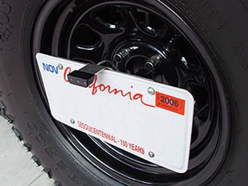 Rock Hard 4x4 License Plate Relocation Kit - RH4006