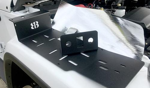 813 Fabrication UHCM-JLT Underhood ARB Single/Twin Compressor Mount for Jeep Wrangler JL & Gladiator JT 2018+