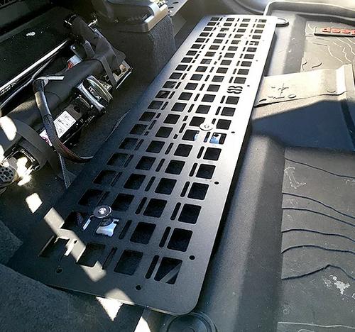 813 Fabrication USMFP-JT Under Seat MOLLE Floor Panel for Jeep Gladiator JT 2020+