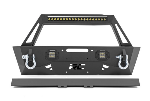 Rough Country 10597A Front Trail Bumper for Jeep Wrangler JL & Gladiator JT 2018+