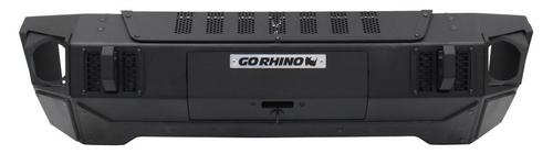Go Rhino 230111T Trailline Winch Ready Front Stubby Bumper for Jeep Wrangler JK, JL & Gladiator JT 2007+