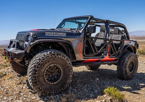 Paramount Automotive 81-20902 Rear Trail Doors for Jeep Wrangler JL 4 Door & Gladiator JT 2018+
