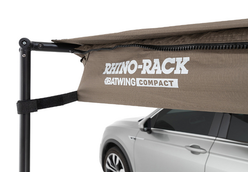 Rhino Rack 33300 Batwing Compact Awning for Pioneer Rack- Drivers Side