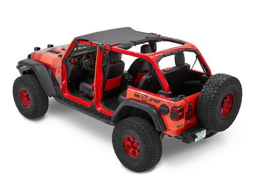 Bestop 52606-35 Targa Header Bikini for Jeep Wrangler JL & Gladiator JT 2018+