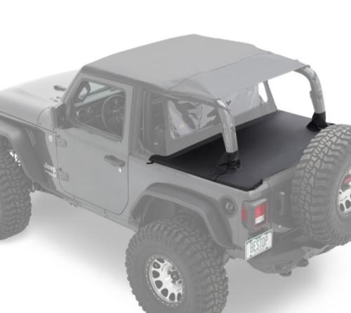 Bestop 90035-35 Duster Deck Cover for Jeep Wrangler JL 2 Door 2018+