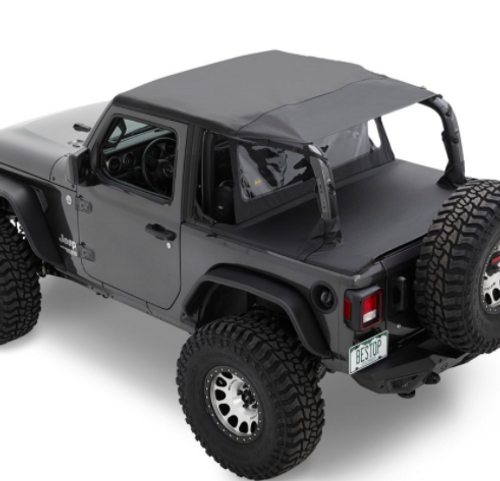 Bestop 90036-35 Duster Deck Cover for Jeep Wrangler JL 4 Door 2018+