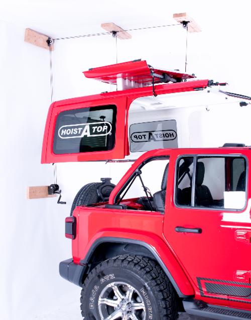 Lange Originals 014-920 Crank Hoist-A-Top for Jeep Wrangler JL 4 Door 2018+