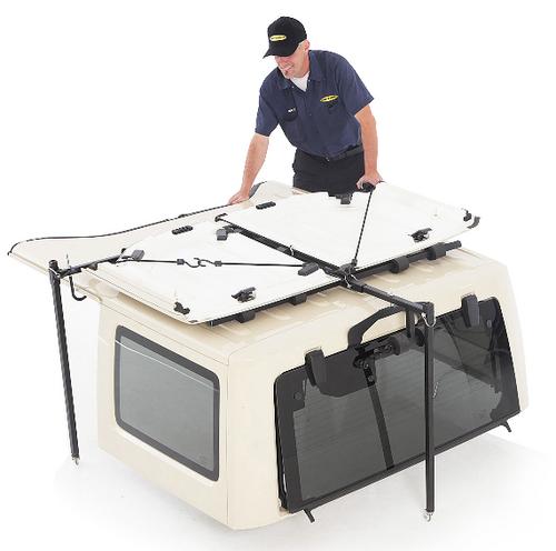 Smittybilt 510001 Hardtop Hoist for Jeep Wrangler YJ, TJ & JK 1987-2018