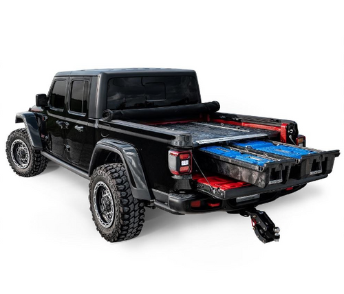 Decked MJ1 Truck Bed Storage System for Jeep Gladiator JT 2020+