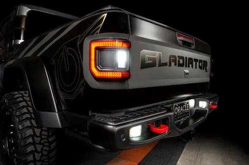 Oracle Lighting 8855-01 Flush Mount LED Tail Lights for Jeep Gladiator JT 2020+