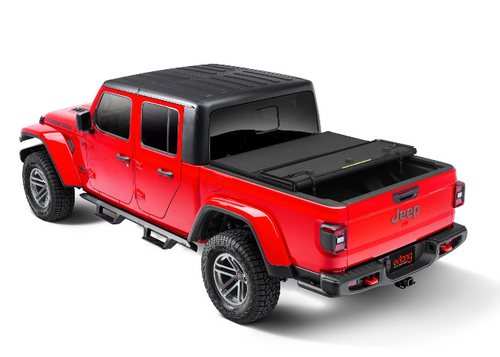 Extang 83896 Solid Fold 2.0 Tri-Fold Hard Bed Cover with Trail Rail System for Jeep Gladiator JT 2020+