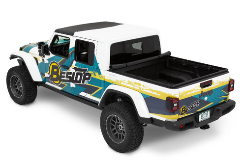 Bestop 77426-17 Supertop for Truck 2 Tonneau Cover for Jeep Gladiator JT 2020+