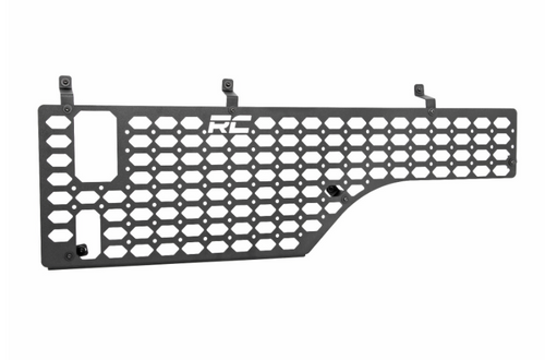 Rough Country 10632 Molle Panel Bed Mounting System- Driver Side for Jeep Gladiator JT 2020+