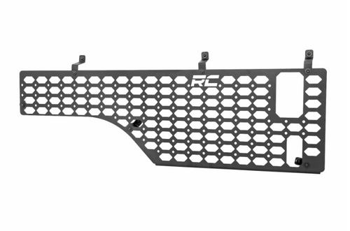 Rough Country 10633 Molle Panel Bed Mounting System- Passenger Side for Jeep Gladiator JT 2020+