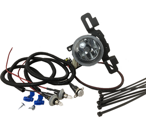 Delta Tech 01-3088-ZJLD 3088 Series Polar LED Fog Lights with Defrost-Heating Element for Jeep Wrangler JL & Gladiator JT with Factory Steel Bumper 2018+