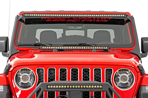 """Rough Country RCH5100 9"""" LED Projector Headlights for Jeep Wrangler JL & Gladiator JT 2018+"""