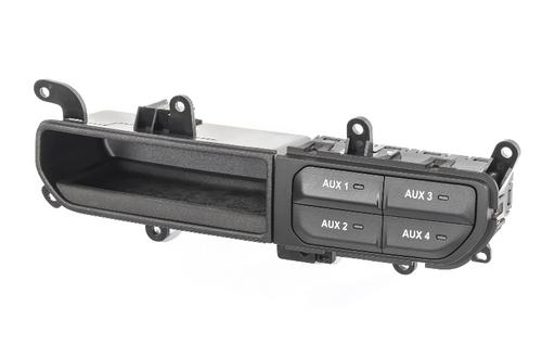 Mopar 82215190AD Auxiliary Switch Bank for Jeep Wrangler JL & Gladiator JT Sport, Sport S & Sahara 2018+