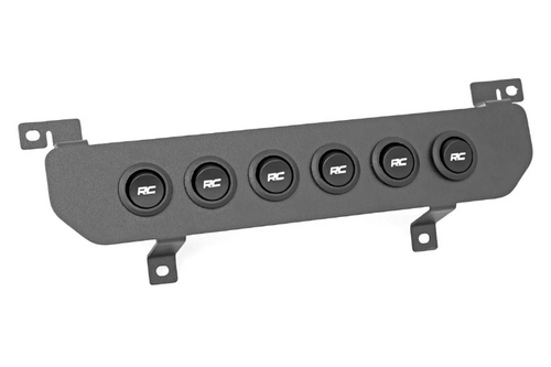 Rough Country 70964 MLC-6 Multiple Light Controller Lower Dash Mount Kit for Jeep Wrangler JL & Gladiator JT 2018+