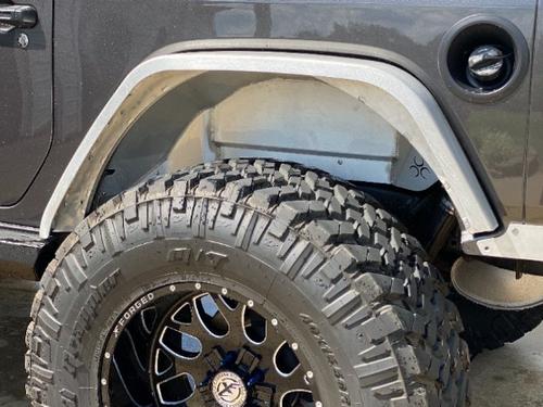 Nemesis Industries 146700 Rear Inner Fender Liners for Jeep Wrangler JL 2018+