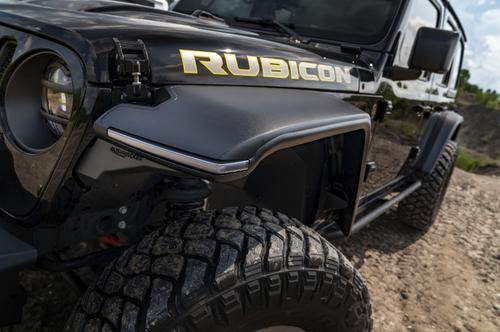 Bushwacker 11950-07 HyperForm Front & Rear Fender Flares for Jeep Wrangler JL 2018+