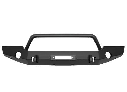 Westin Automotive 59-80115 WJ2 Full Width Front Bumper with Bull Bar for Jeep Wrangler JL & Gladiator JT 2018+
