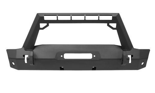 Westin Automotive 59-80085 WJ2 Front Stubby Bumper with LED Light Bar Mount for Jeep Wrangler JL & Gladiator JT 2018+