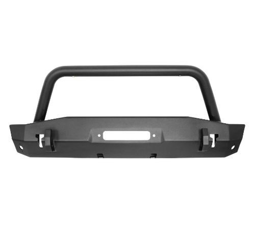 Westin Automotive 59-80075 Front Stubby Bumper with Bull Bar for Jeep Wrangler JL & Gladiator JT 2018+