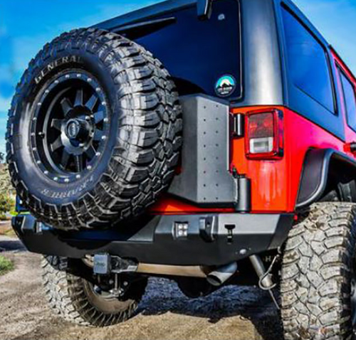 Westin Automotive 59-82035B WJ2 Tire Carrier for Jeep Wrangler JL 2018+