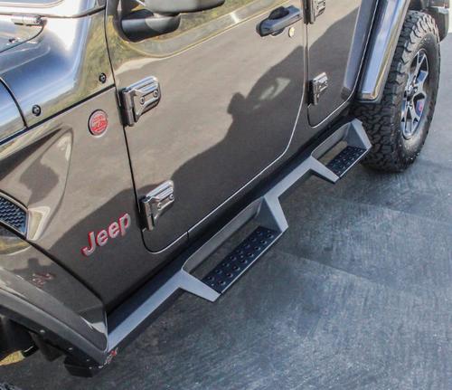 Westin Automotive 56-14065 Drop Nerf Steps for Jeep Wrangler JL 4 Door 2018+