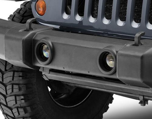 Morimoto LF030 XB Projector LED Fog Light Pair for Jeep Wrangler JK 2007-2018