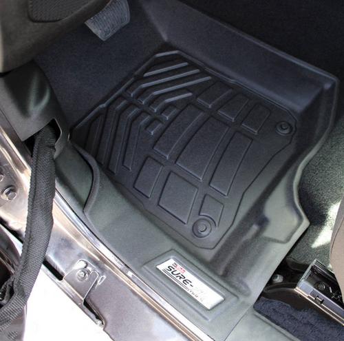 Westin Automotive 72-110102 Sure Fit Front Floor Liners for Jeep Wrangler JL & Gladiator JT 2018+