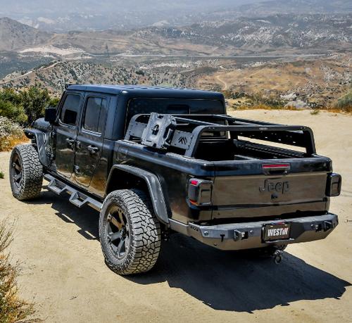 Westin Automotive 51-10005 Overland Cargo Rack for Jeep Gladiator JT 2020+