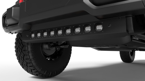 Oracle Lighting 5883-001 Skid Plate with Integrated LED Emitters | Clear for Jeep Wrangler JL & Gladiator JT 2018+