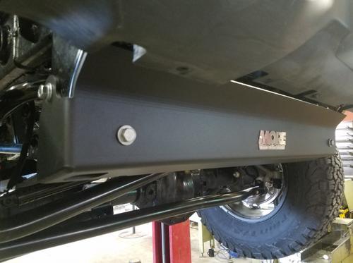 M.O.R.E. JLFSP18 Front Skid Plate for Jeep Wrangler JL 2018+