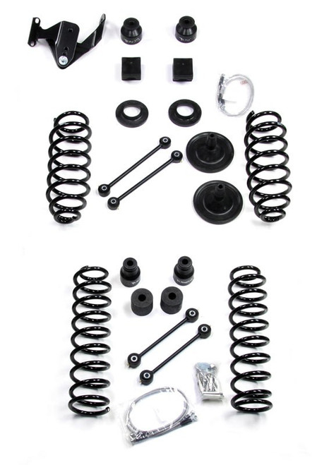 "TeraFlex 3"" Lift Kit for Jeep Wrangler JK 2007-2014 without shocks"