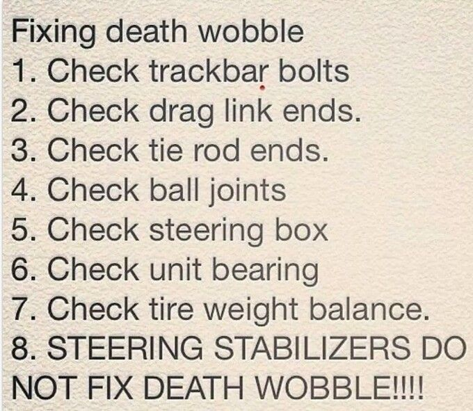 Death Wobble: What It Is, What Causes It and How to Fix and Prevent