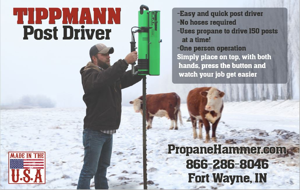 Propane Hammer Post Driver Post Pounder