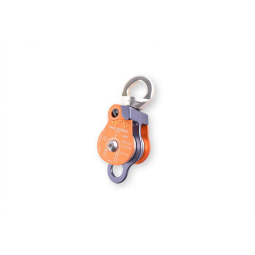 ROCK EXOTICA DOUBLE PULLEY WITH SWIVEL