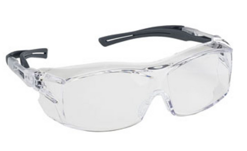 EXTRA OTG SAFETY GLASSES CLEAR LENS