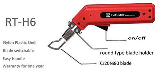 Heat Knife Rope/Webbing Cutter