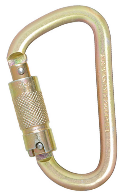 STEEL 3 STAGE CSA CARABINER