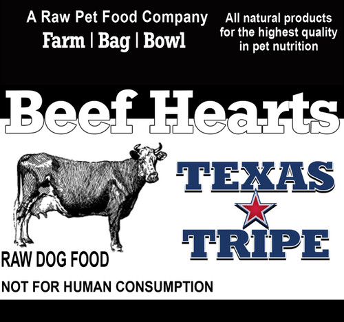 Beef Hearts 14 lb. case