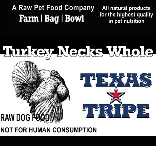 Turkey Necks Whole 30# Case