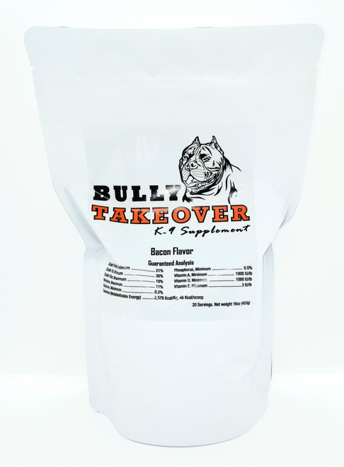 Bully Takeovers Bacon Flavor 80 oz