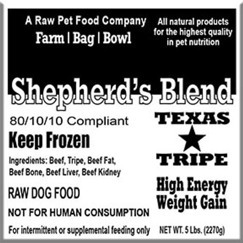 Bulk Shepherd's Blend - 40 lb case