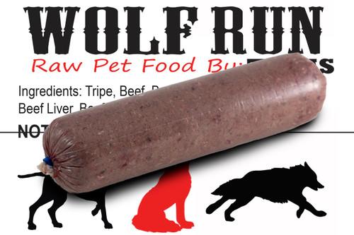 Wolf Run - Beef Tripe Blend - 20 lb. case