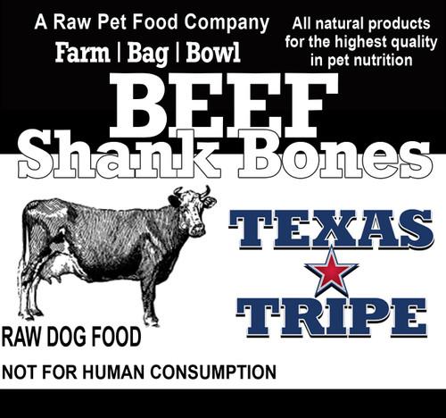 Beef Shank Bones 10 lb. case